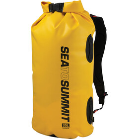 Sea to Summit Hydraulic - Accessoire de rangement - with Harness 35l jaune